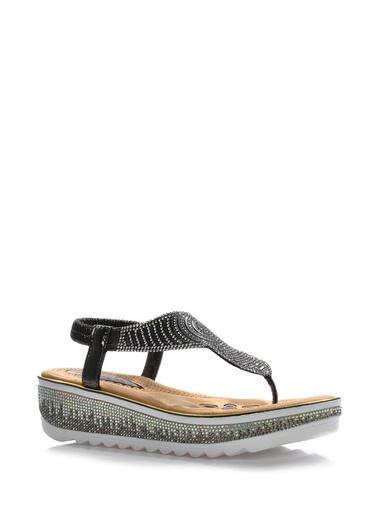 Vizon Ayakkabı Sandalet Gri
